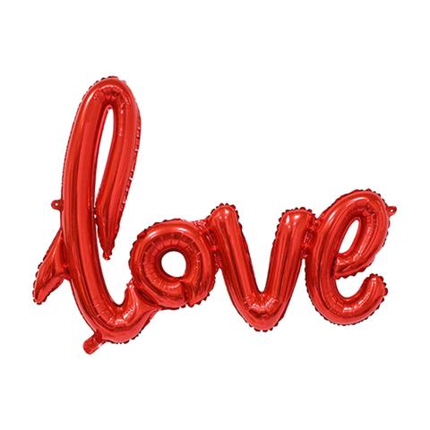 Love 104 см Красная