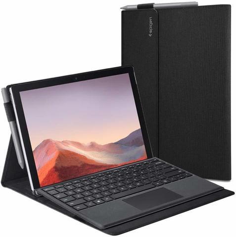 Чехол-папка Spigen Stand Folio Designed для Surface Pro 7 / Surface Pro 6 Case - Black