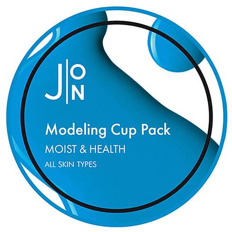 Альгинатная маска для лица УВЛАЖНЕНИЕ/ЗДОРОВЬЕ Moist & Health Modeling Pack, 18 гр, J:ON