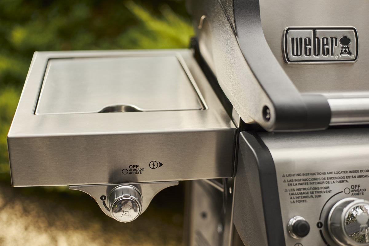 Гриль газовый Spirit SP-335 Premium GBS, нерж. сталь