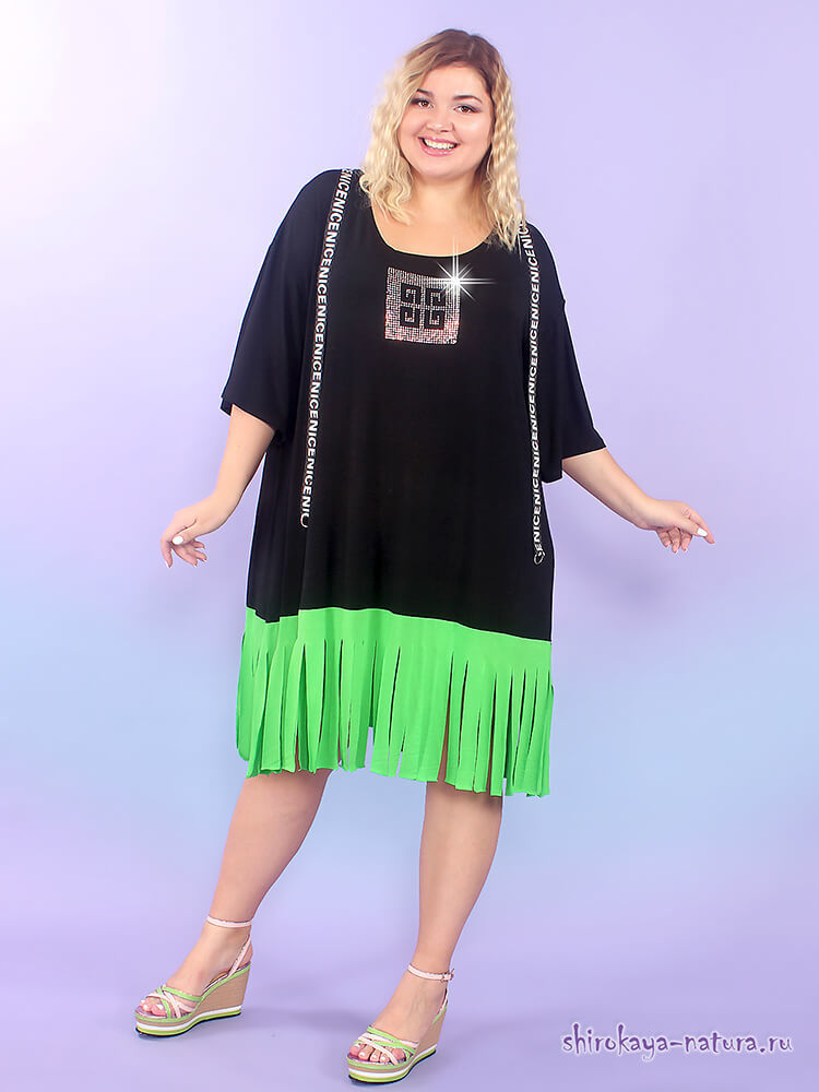 одежда туники больших размеров