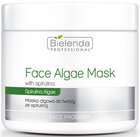 PROFESSIONAL Альгинатная маска для лица со спирулиной 190г
