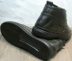 Мужские зимние ботинки на толстой подошве Rifellini Rovigo C8208 Black