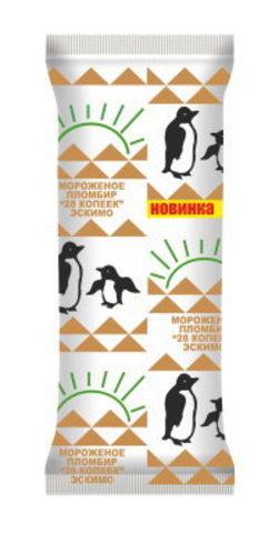 Белорусское мороженое эскимо