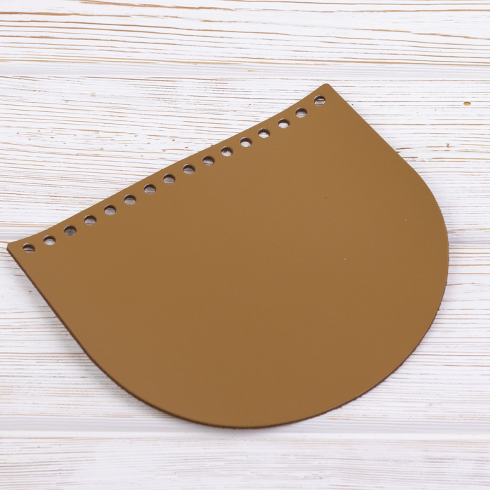 "Вся фурнитура Клапан для сумочки кожаный ""Мёд"" 19*16 см IMG_8905.jpg"
