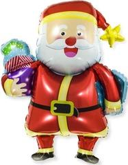 К Фигура, Веселый Дед Мороз с подарками, 37''/94см.