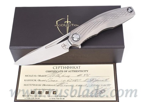 Comrade knife by CultroTech Knives Elmax limited