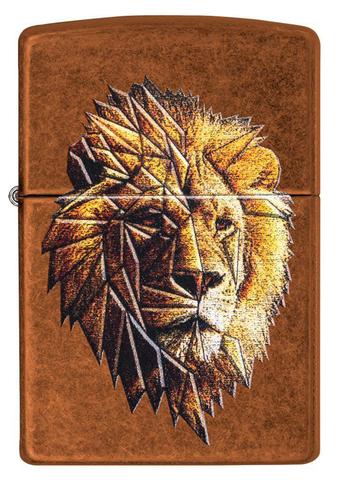 Зажигалка Zippo 29865 Polygonal Lion Design
