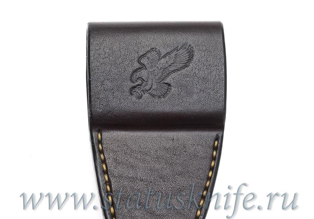 Чехол кожаный темно-коричневый ZT 0562 - фотография