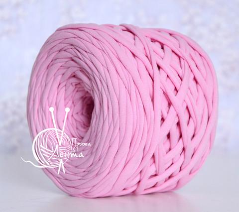 Пряжа Лента Розовый