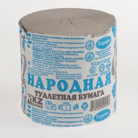 Бумага туалетная НАРОДНАЯ КАЗАХСТАН