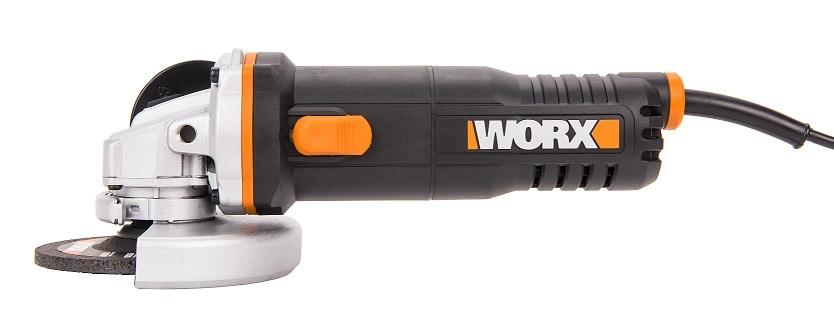 Угловая шлифовальная машина WORX WX711.1, 750Вт, 115мм, кейс