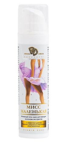 Интимный гель-крем для женщин  Мисс Маленькая  - 50 мл.