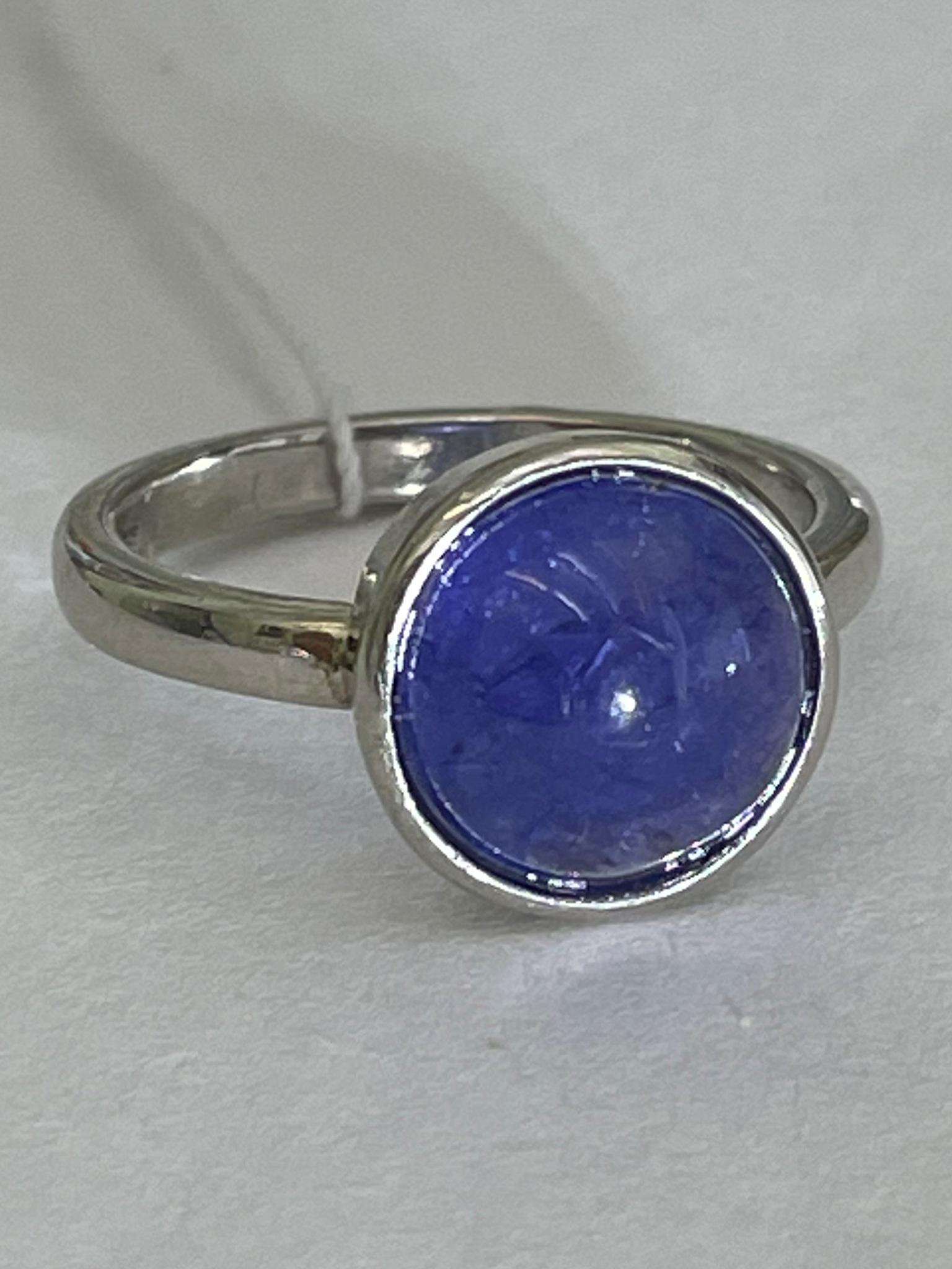 Танзанит 2386 (кольцо из серебра)