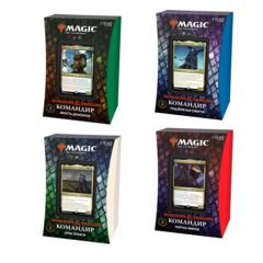 Все командирские колоды выпуска «Приключения в Забытых Королевствах»