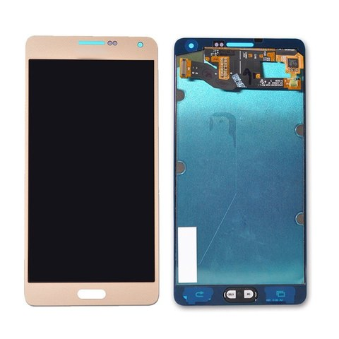 LCD SAMSUNG A7 A700H + Touch Gold (TFT Backlight Adjustment) MOQ:5