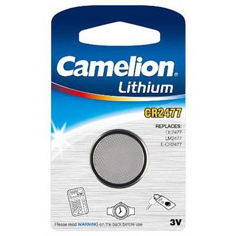 Батарейки литиевые Camelion CR 2477 / 1 BL