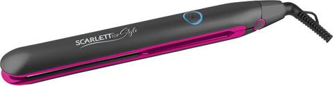 Щипцы Scarlett SC-HS60678 35Вт макс.темп.:200С покрытие:керамическое черный/фиолетовый