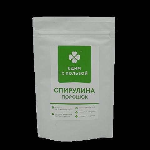 Спирулина порошок ЕДИМ С ПОЛЬЗОЙ, 100 гр