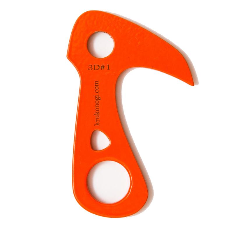 Крюк якорный заточенный 3D #1 (60мм)