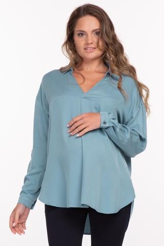 Блузка для беременных 11880 индиго