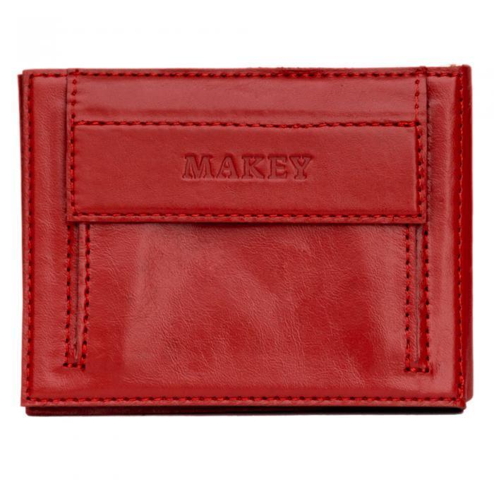 Зажим для денег | Bubbes | Красный