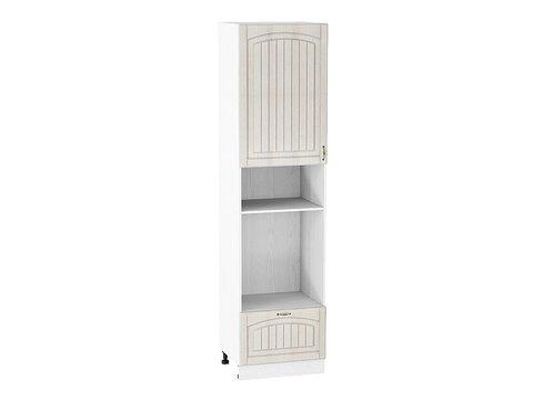Шкаф пенал под бытовую технику с 1-ой дверцей и ящиком 600 Верона 920 L (Ясень золото)