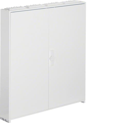 Щиток открытой установки,секционный,с оснасткой,IP44,1100x1050x161мм (ВхШхГ),две двери,RAL9010