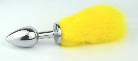 Пробка металлическая с лимонным хвостиком размер S 47154-MM