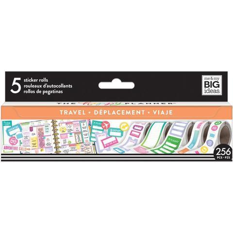 Набор стикеров в рулоне Happy Planner Sticker Roll -Travel