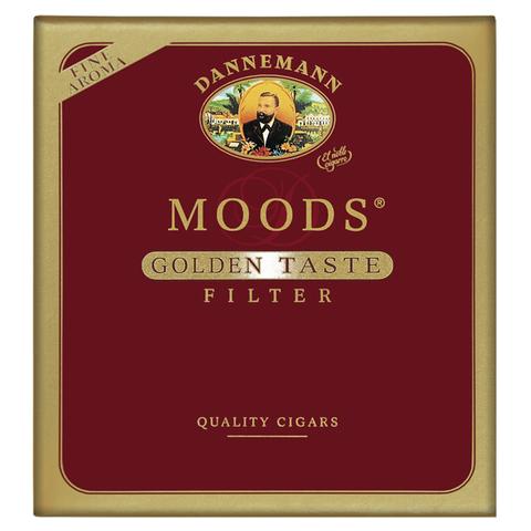 Сигары Moods Golden Taste Filter