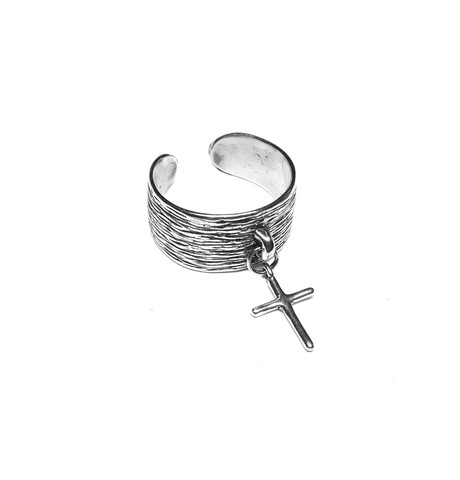 Cross ring Sterling Silver