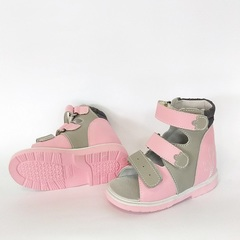 детские ортопедические сандалии без стельки