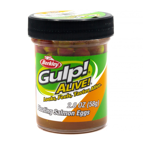 Приманка силиконовая Berkley Gulp! Alive!  Floating Salmon Eggs Tutti Frutti (1313093) Имитация икры