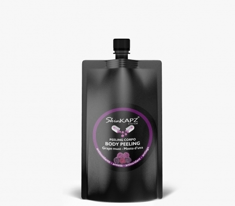SKIN KAPZ | Cкраб для тела Виноградные косточки / Grape Must Body peeling, (500 г)