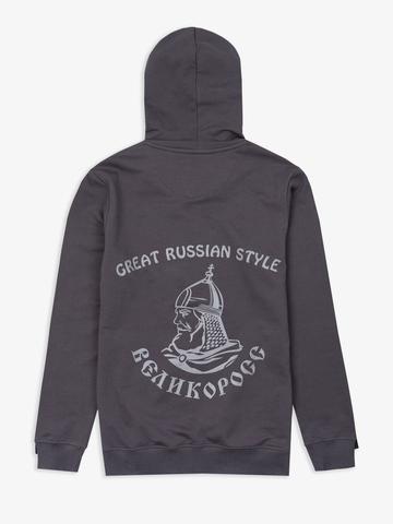 """Carbon zip hoodie """"VELIKOROSS"""""""