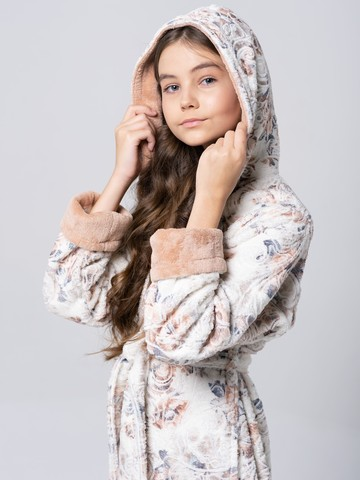 LITTLE MADONNA (spanish peach) детский халат для девочки  Five Wien Турция