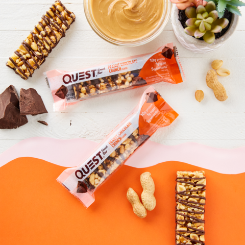 Батончик Quest Snack Bar Peanut Chocolate Crunch (12 шт)