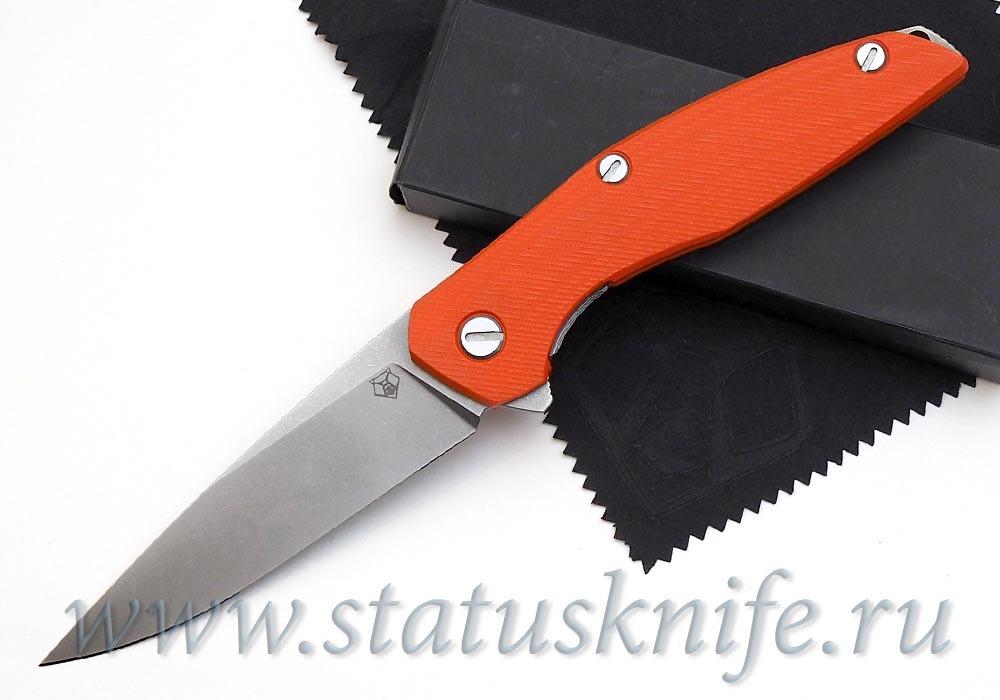 Нож Широгоров 111 G10 3D оранжевая рукоять 440С