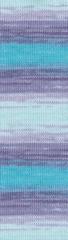 3677 (Белый,лиловый,фиолет,бирюза