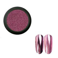 Pink House, Зеркальная втирка №01, розовая