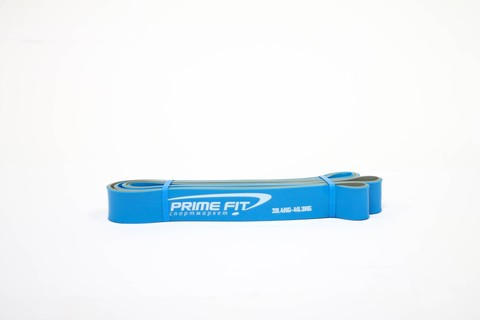 1213-23/32 Эспандер-петля Prime Fit, дл. 2080х4,5х32мм, латекс, серо-синий, нагрузка 20,4-45,3 кг