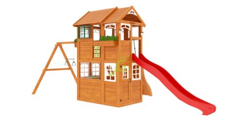 Детская площадка Клубный домик 2 Luxe