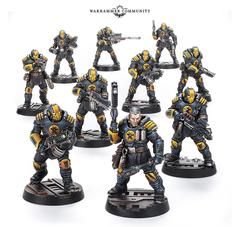 Necromunda: Palantie Enforcer Patrol