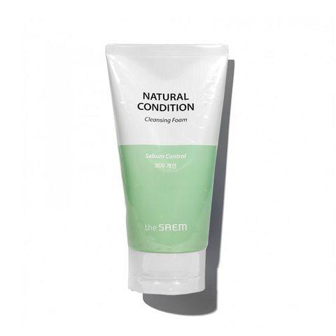 Пенка для умывания для жирной кожи The Saem Natural Condition Cleansing Foam Sebum Controlling 150мл