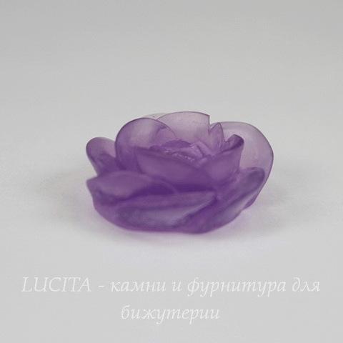 """Кабошон акриловый """"Камерия"""", цвет - фиолетовый, 20 мм"""