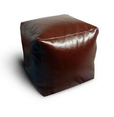 Пуфик куб Браун глянeц