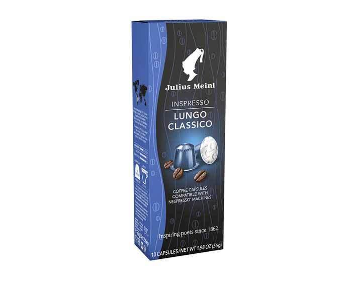 Капсулы для кофемашин Julius Meinl Lungo Classico