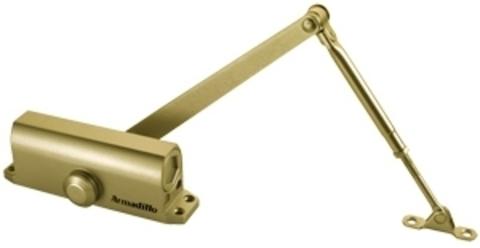 Доводчик дверной Armadillo (Армадилло) морозостойкий LY4 85 кг (золото)