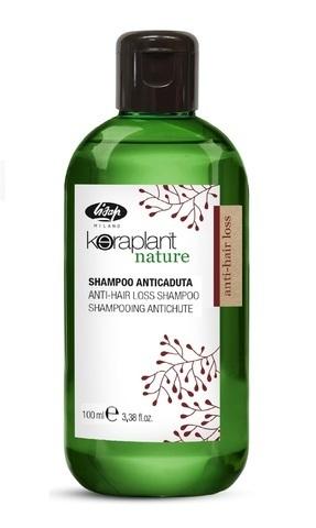 Шампунь против выпадения волос - Lisap Keraplant Nature Anti-Hair Loss Shampoo 100 мл